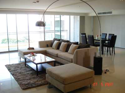 Property thailand pattaya 3 Bedrooms Luxury Sea view Condo for Rent in Pattaya Center