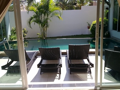 House With Private Pool for Rent