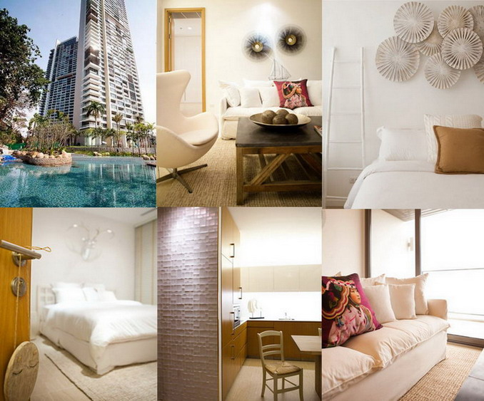 Luxury Beachfront Northpoint Condominium at Wong- Amat Beach
