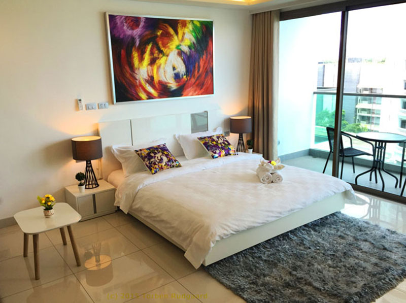 Sea View Condo for Rent in Wong Amat Beach, Pattaya