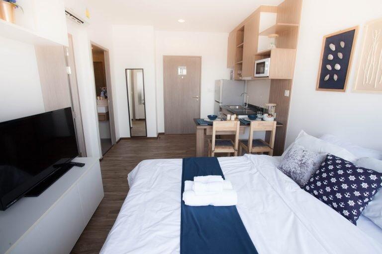 1 Bedroom Condo for Rent on Thappraya Rd, Jomtien
