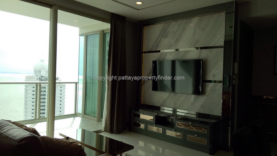 Brand New Condominium For Rent in Wong Amat Beach Pattaya