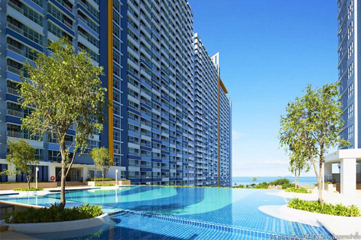 2 Beds Condo Sea view for Rent in Jomtien Beach