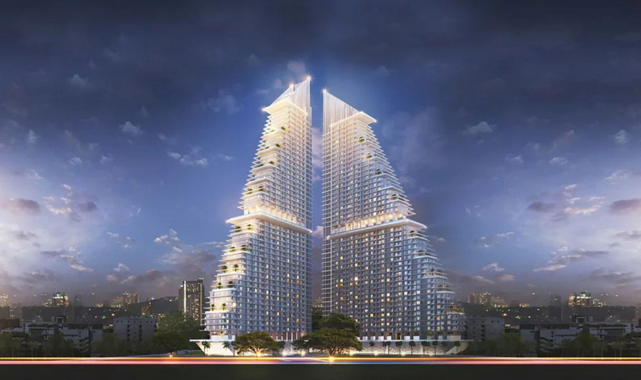 Marina Golden Bay New Condominium Project For Sale in Pattaya